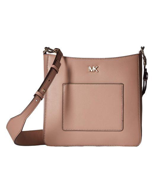 MICHAEL Michael Kors - Brown Gloria Pocket Swing Pack (mushroom) Bags - Lyst