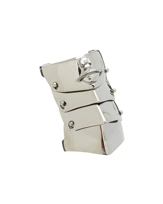Vivienne Westwood | Metallic Armour Ring for Men | Lyst