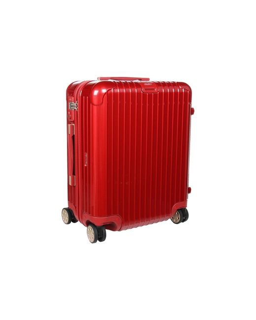 Rimowa - Red Salsa Deluxe - Cabin Multiwheel(r) (brown) Pullman Luggage - Lyst