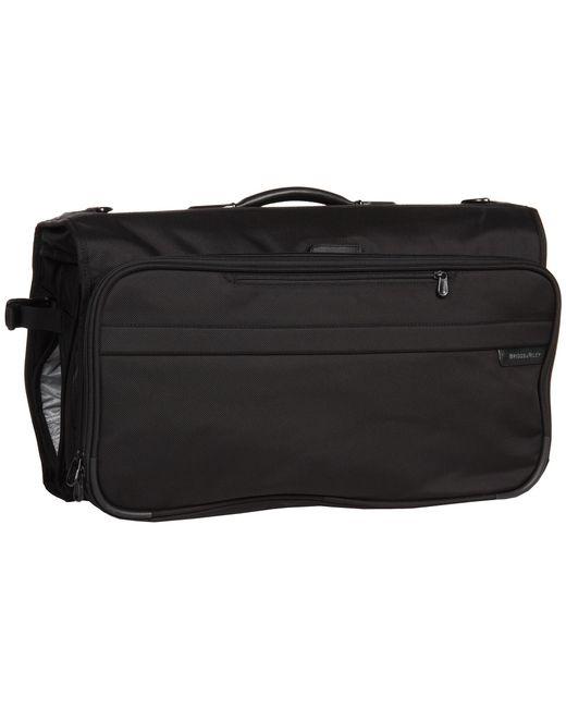 Briggs & Riley   Black Baseline - Compact Garment Bag   Lyst