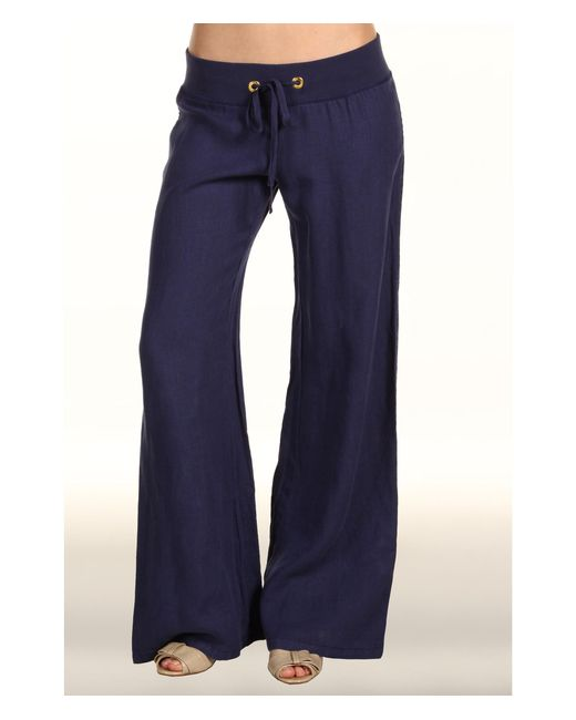 Lilly Pulitzer | Blue Beach Pant | Lyst