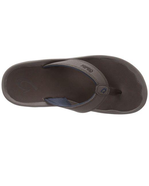 727a48c3a6cf Lyst - Olukai Ohana (stormy Blue black) Men s Sandals for Men