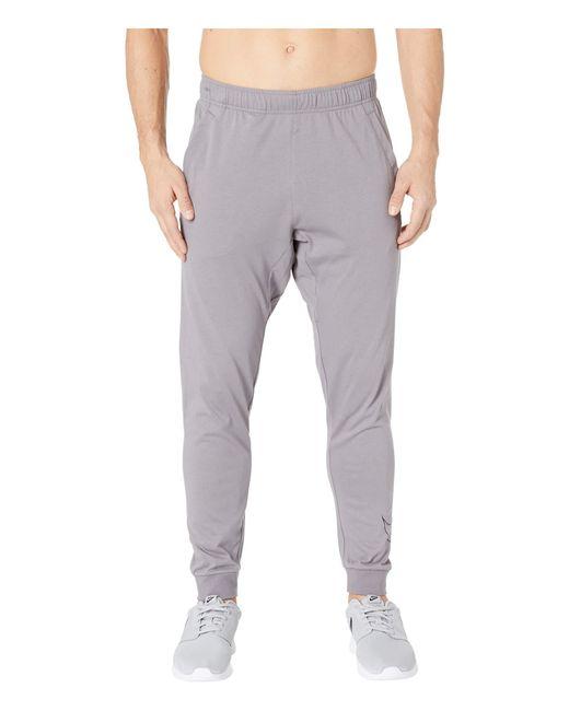 78500d1f75e9 Lyst - Nike Dri-fit Cotton Pants (black white) Men s Casual Pants in ...