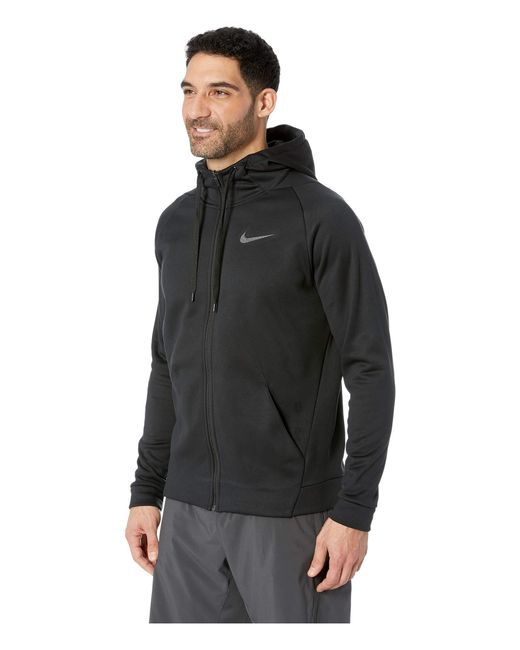 1f5a1a652884 ... Nike - Dri-fit Therma Men s Full-zip Training Hoodie (white black ...