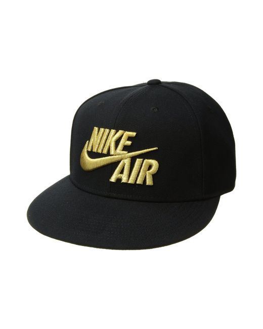 ... sale nike air true cap classic black black metallic gold caps for c9eab  b4124 c02f7aac3