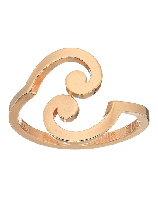ALEX AND ANI - Multicolor Wrinkle In Time - Spiral Ring Wrap (14kt Rose Gold Plated) Ring - Lyst