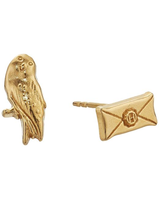 ALEX AND ANI - Multicolor Harry Potter Owl Post Earrings (sterling Silver) Earring - Lyst