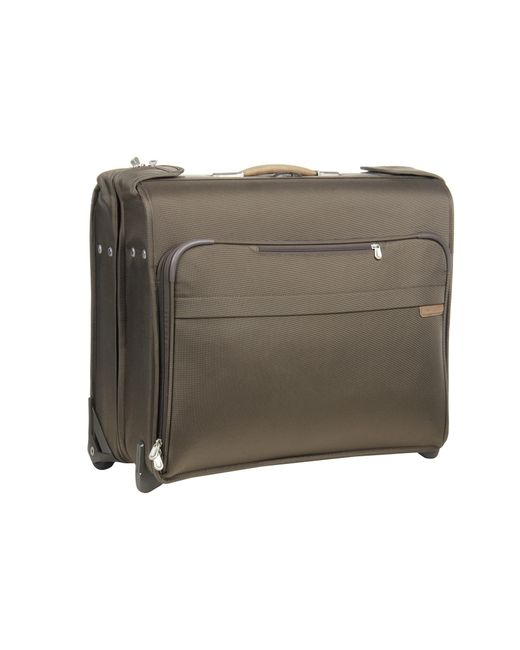 Briggs & Riley | Green Baseline Deluxe Wheeled Garment Bag | Lyst