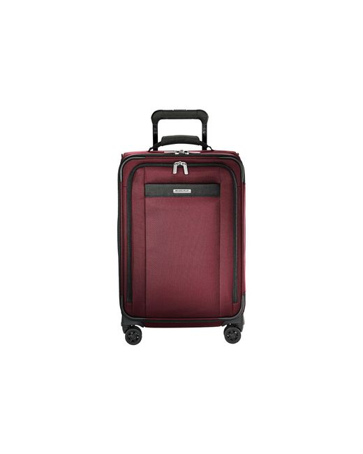 Briggs & Riley - Red Transcend Vx Tall Carry-on Expandable Spinner - Lyst
