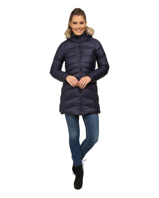 Marmot | Blue Montreal Coat | Lyst