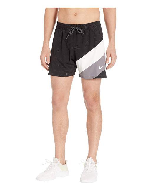 97ae1814fc Nike - Black 5 Optic Camo Mesh Signal Volley Shorts for Men - Lyst ...