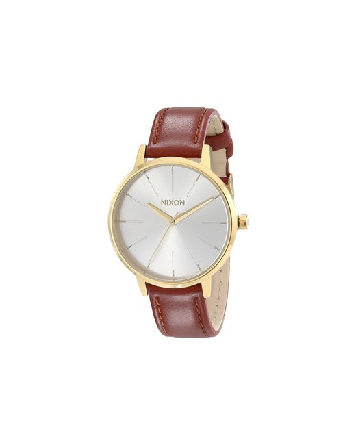 Nixon | Metallic Kensington Leather | Lyst
