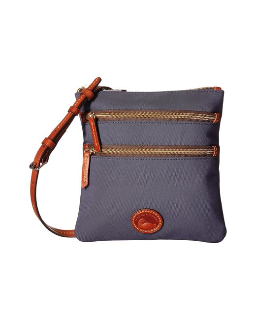Dooney & Bourke | Blue Nylon North/south Triple Zip | Lyst