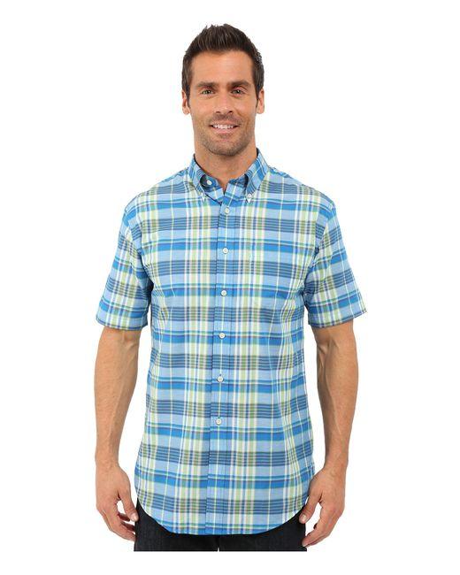 Pendleton   Blue S/s Seaside Button Down Shirt for Men   Lyst