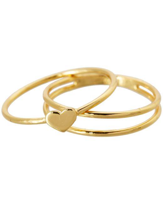 Gorjana | Metallic Carina Midi Ring | Lyst