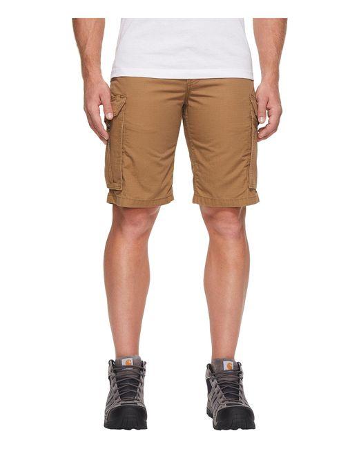 Carhartt | Brown Force Tappen Cargo Short for Men | Lyst