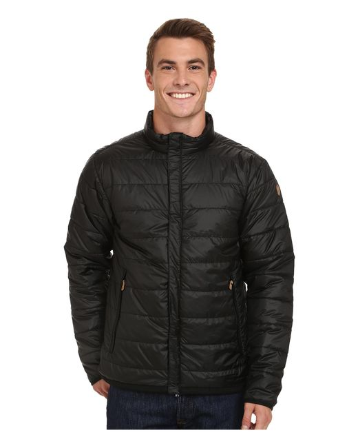 Fjallraven | Black Keb Loft Jacket for Men | Lyst