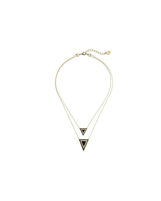 House of Harlow 1960 | Metallic Teepee Triangle Necklace | Lyst