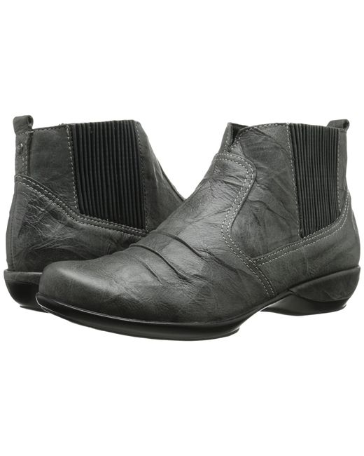 Aetrex   Gray Kailey Ankle Boot   Lyst