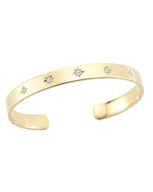 Elizabeth and James | Metallic Bassa Cuff Bracelet | Lyst