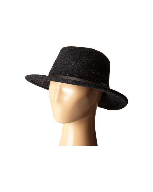 Filson Packer Hat: Filson Wool Packer Hat In Black