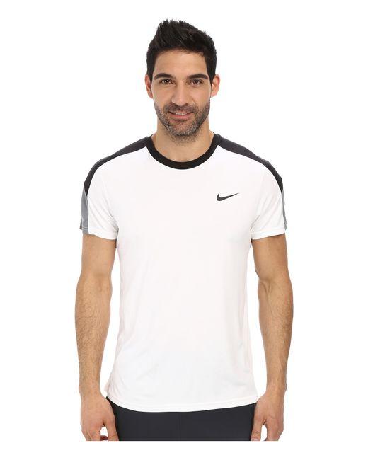 Nike | White Court Tennis Shirt for Men | Lyst