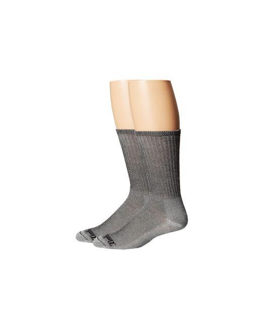 Timberland | Gray Tm30873 Merino Wool Crew 2-pair Pack for Men | Lyst