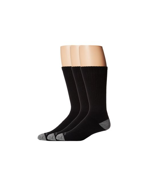 Timberland | Black Tm30405 Crew 3-pair Pack for Men | Lyst