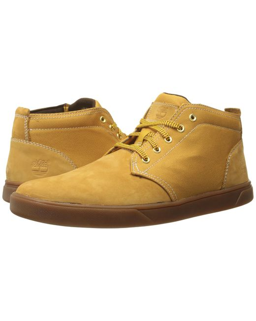 Timberland | Natural Groveton Leather And Fabric Chukka for Men | Lyst