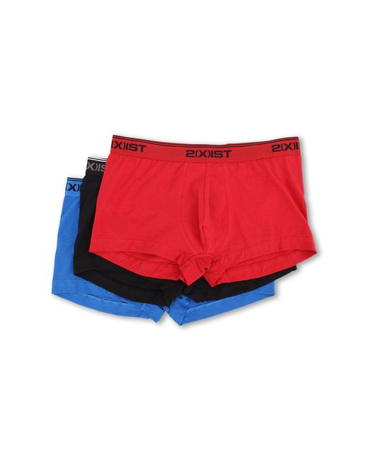 2xist | Multicolor Stretch 3 Pack No Show Trunk for Men | Lyst