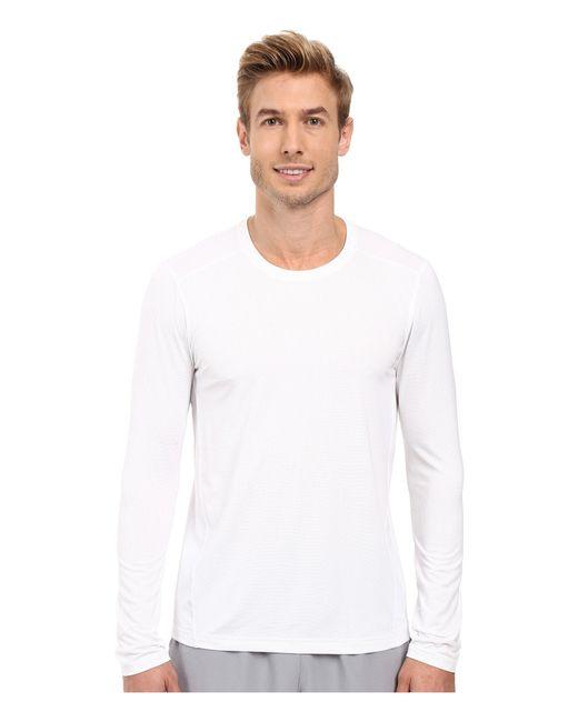 Adidas Originals | Black Climacool Single Long Sleeve Crew for Men | Lyst