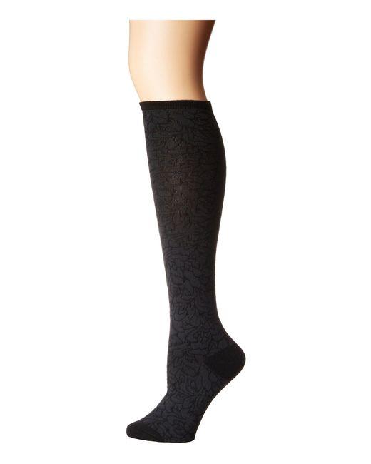 68eb0d06582 Natori - Magnolia Wool Blend Knee High (black) Women s Knee High Socks  Shoes ...