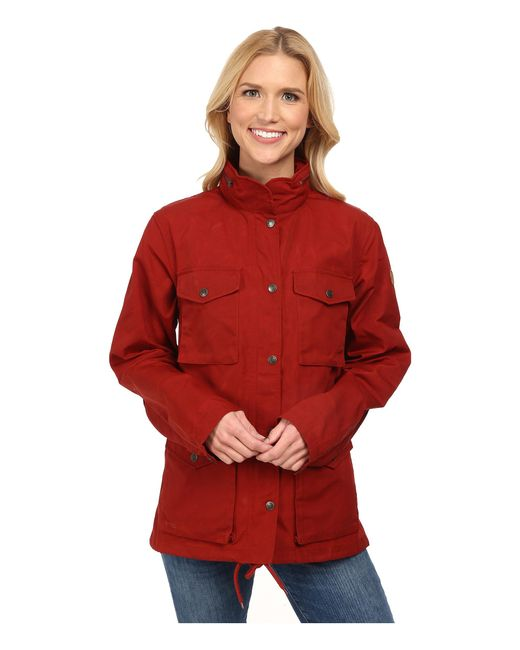 Fjallraven | Red Raven Jacket | Lyst