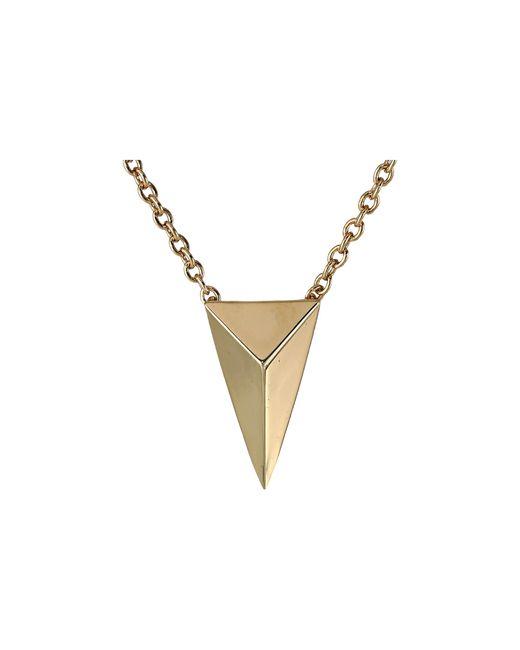Alexis Bittar | Metallic Pyramid Charm Pendant | Lyst