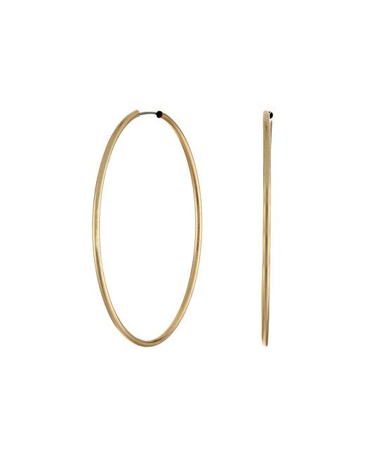 Guess | Metallic Large Hoop Earring | Lyst