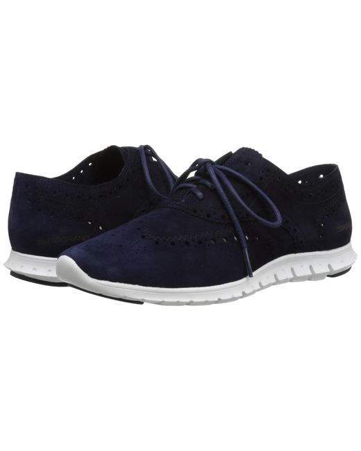 Cole Haan | Blue Zerogrand Wing Oxford | Lyst