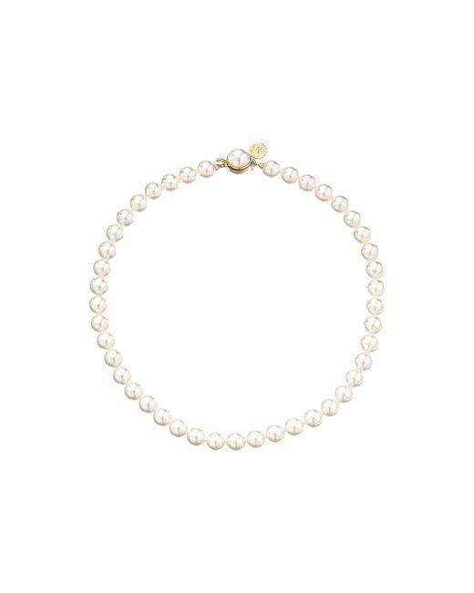 Majorica | Metallic 1 Row 8mm Pearl Necklace | Lyst