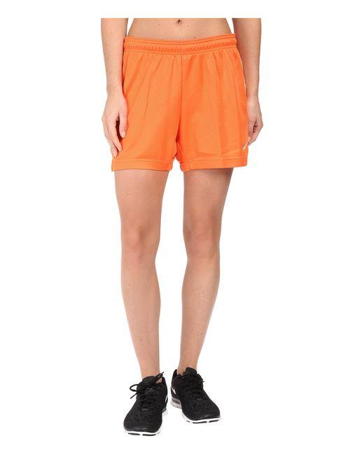 Nike | Orange Dri-fit™ Academy Knit Shorts | Lyst