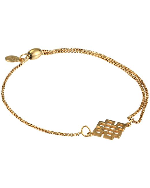 ALEX AND ANI | Metallic Precious Ii Collection Endless Knot Adjustable Bracelet | Lyst
