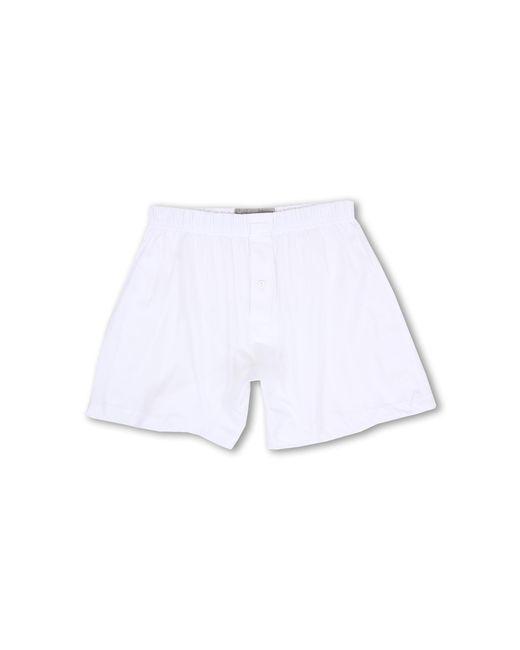 2xist   White Pima Knit Boxer for Men   Lyst