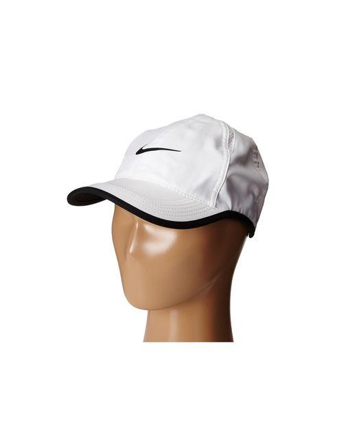 Nike | White Featherlight Cap | Lyst