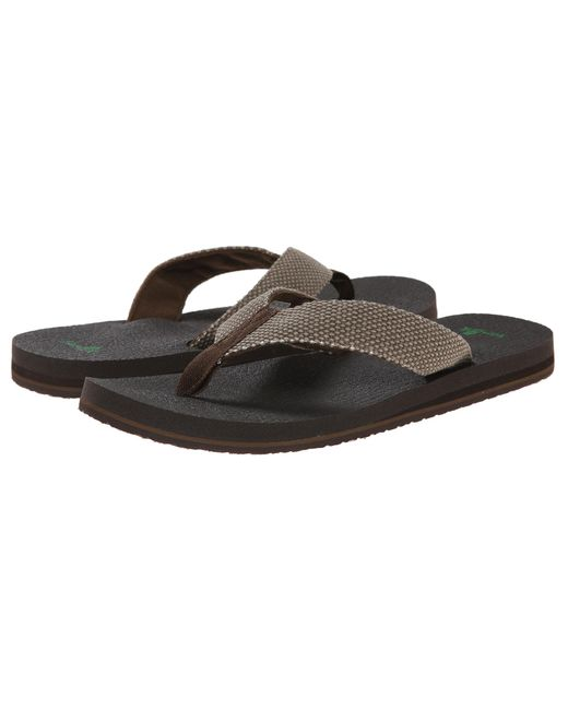 Sanuk | Brown Yogi 4 for Men | Lyst