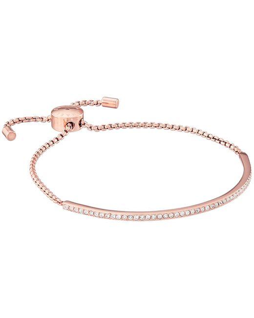 Michael Kors | Pink Brilliance Pave Bar Slider Bracelet | Lyst