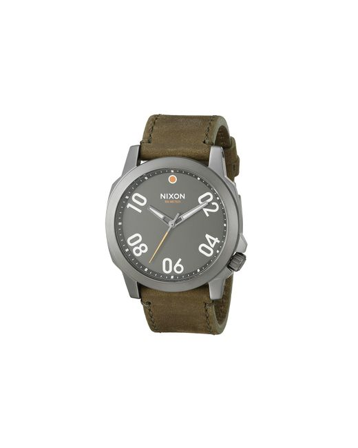 Nixon | Brown Ranger 45 Leather | Lyst