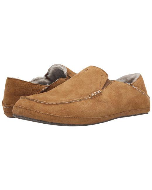 Olukai | Brown Moloa Slipper for Men | Lyst