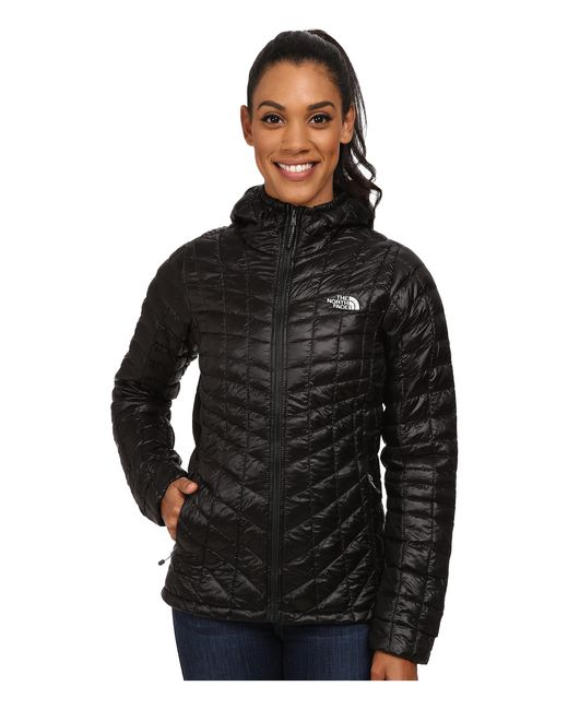 The North Face   Black Thermoballtm Hoodie   Lyst