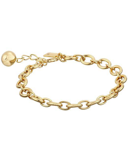 kate spade new york | Metallic How Charming Link Bracelet | Lyst