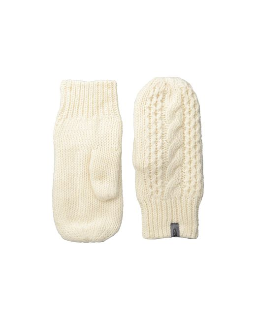 The North Face | White Cable Knit Mitt | Lyst