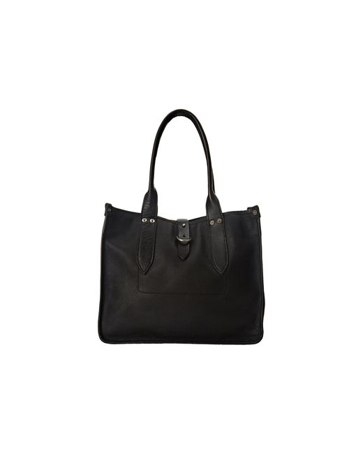 Frye | Black Amy Shopper | Lyst