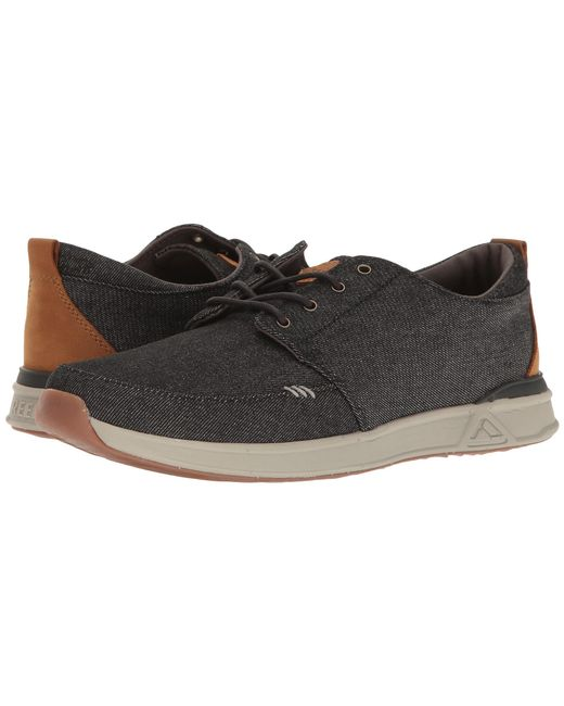 Reef | Black Rover Low Tx for Men | Lyst